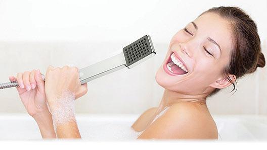 Bathroom-singing